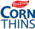 Realfoods corn thins logo