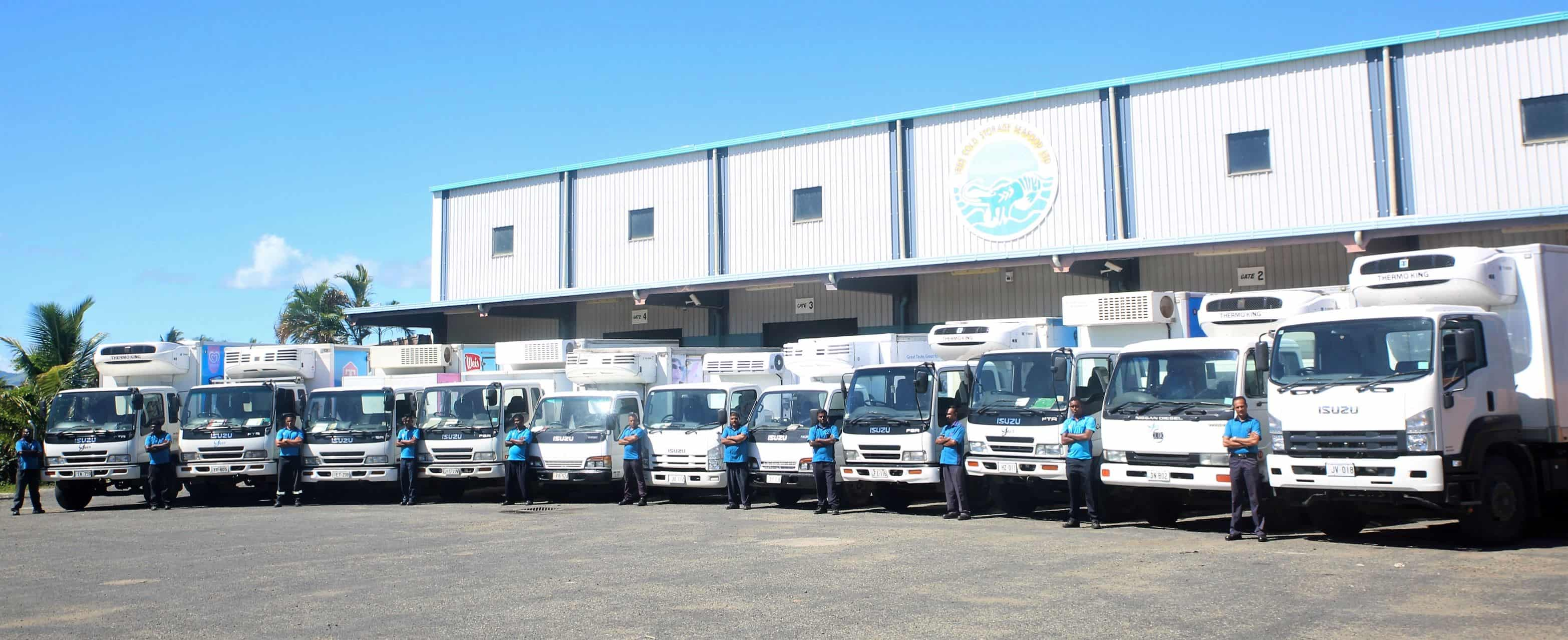 Yee's Warehouse & Delivery Fleet