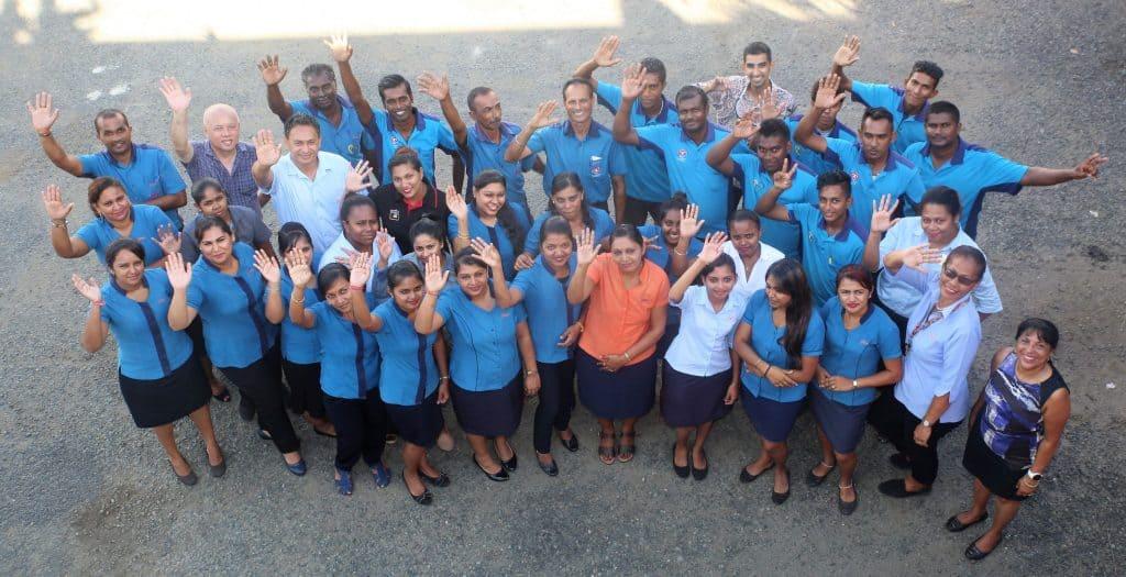 Yee's Distribution team